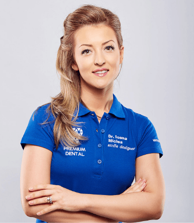 dr Ioana Miclea @ Premium Dental Arad
