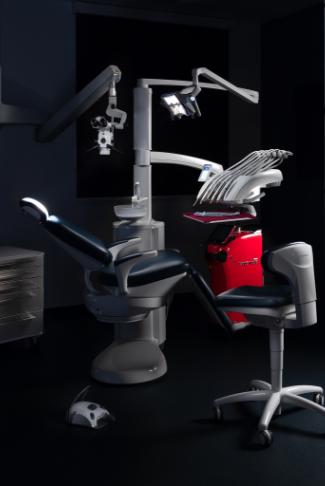 scaun stomatologic la clinica Premium Dental in Arad
