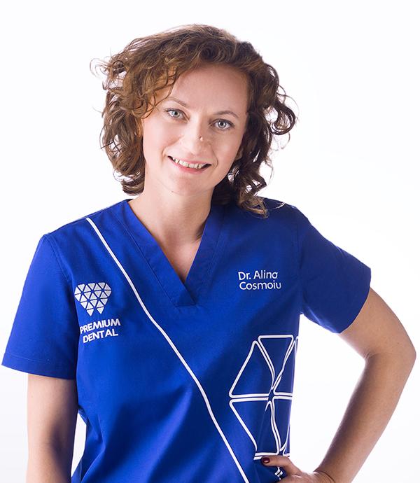 dr Alina Cosmoiu - chirurgie dento-alveolara @ Premium Dental Arad