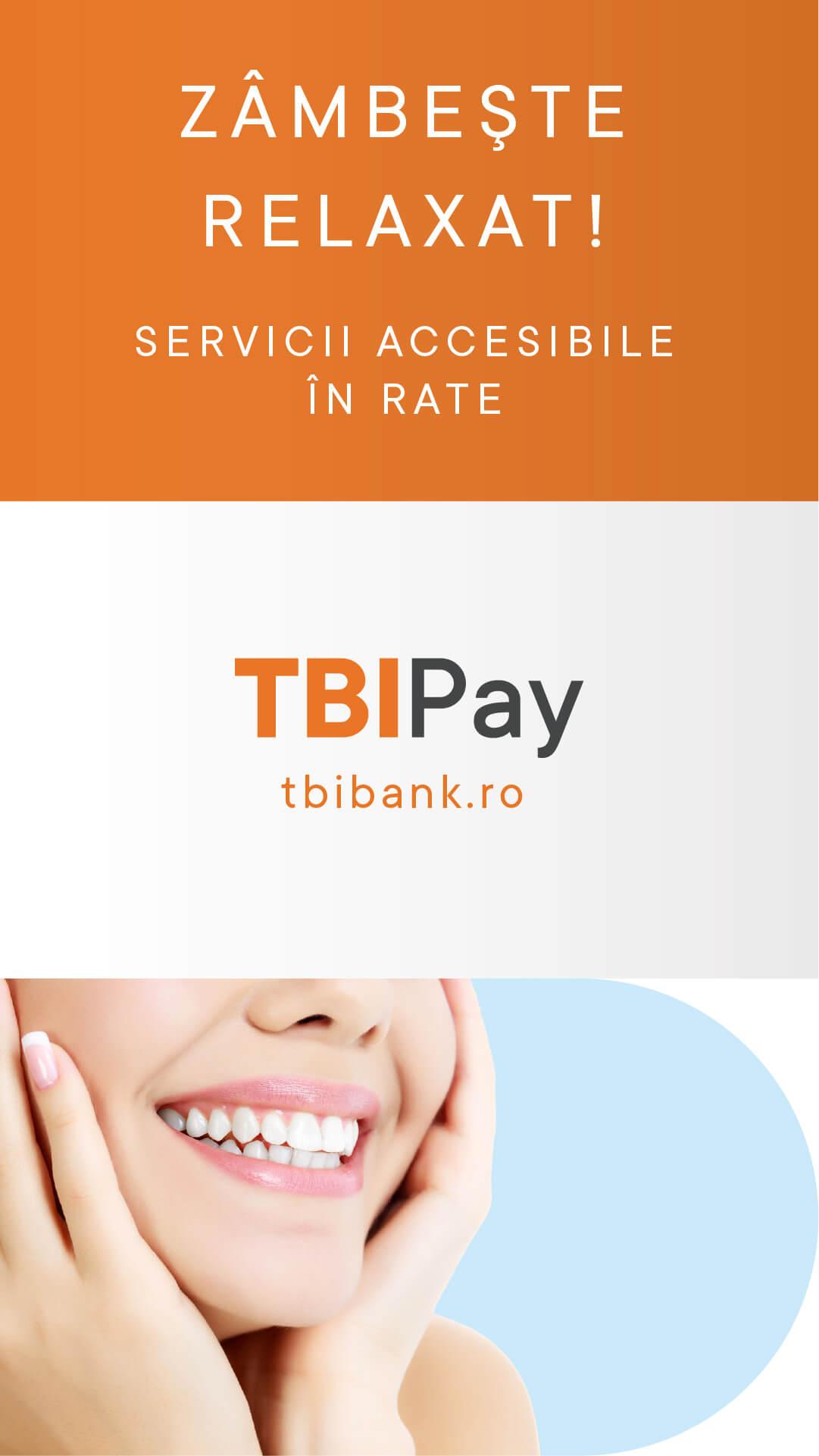 finantare tratamente dentare TBIbank.ro